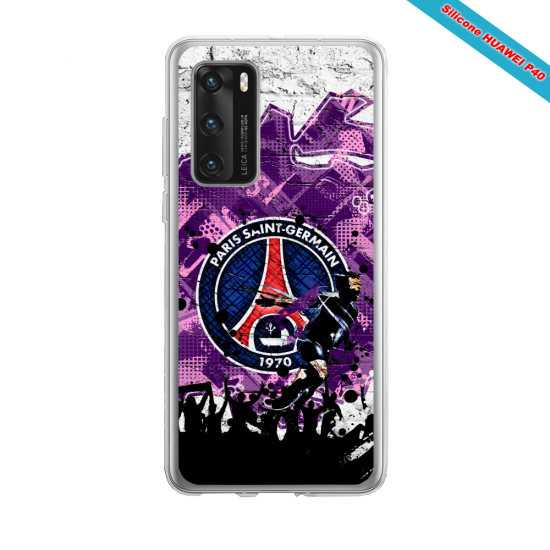 Coque silicone Huawei Mate 10 LITE Fan de BMW version super héro