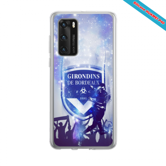 Coque silicone Huawei MATE 10 LITE Fan d'Overwatch Faucheur super hero