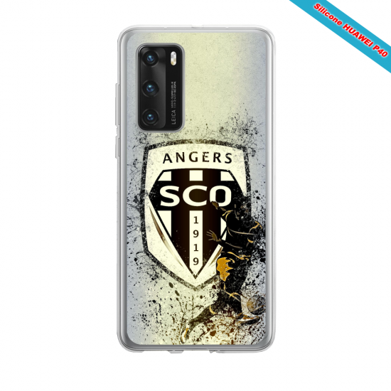 Coque silicone Huawei MATE 10 LITE Fan d'Overwatch Fatale super hero