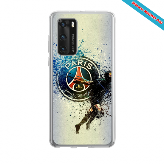 Coque silicone Huawei Mate 10 LITE Fan de The Rolling Stones super hero