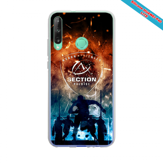 Coque silicone Huawei MATE 10 LITE Fan d'Overwatch Bouldozer super hero
