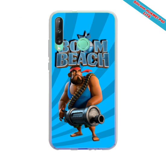 Coque silicone Huawei Mate 10 LITE Hibiscus rouge