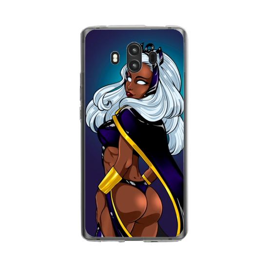 Coque silicone Huawei Mate 10 PRO Fan de BMW version super héro