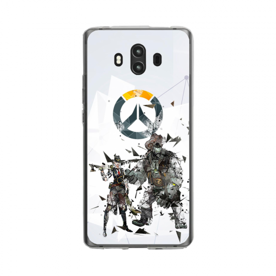 Coque silicone Huawei MATE 10 PRO Fan d'Overwatch Genji super hero