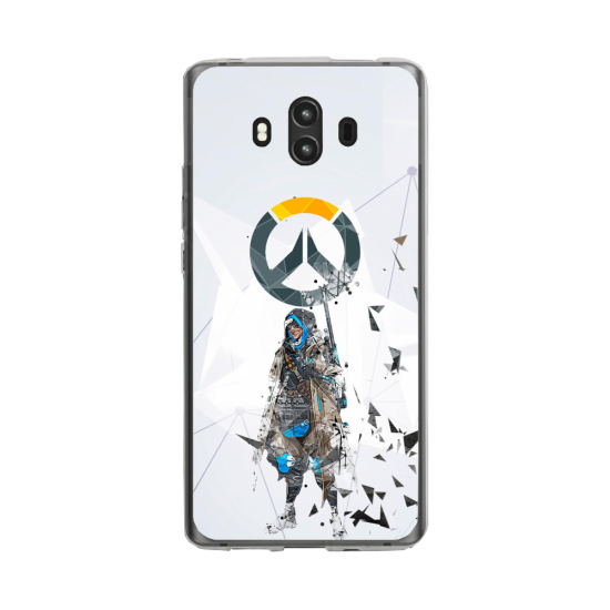 Coque silicone Huawei MATE 10 PRO Fan d'Overwatch Hanzo super hero