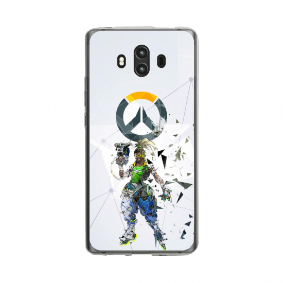 Coque silicone Huawei MATE 10 PRO Fan d'Overwatch Choppeur super hero