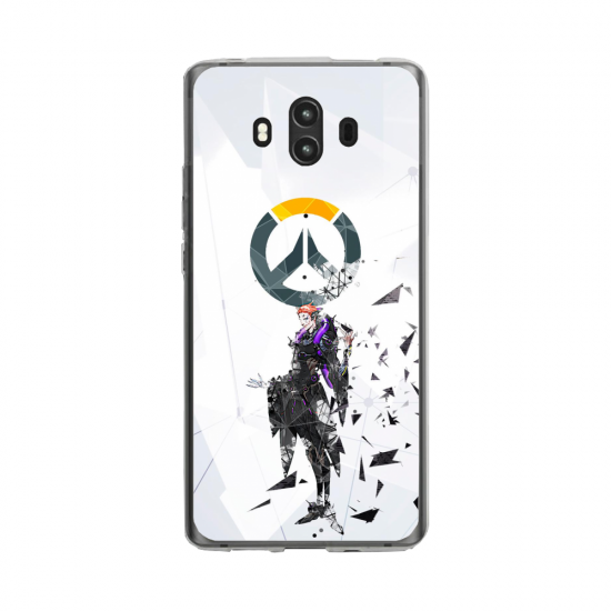 Coque silicone Huawei MATE 10 PRO Fan d'Overwatch Doomfist super hero
