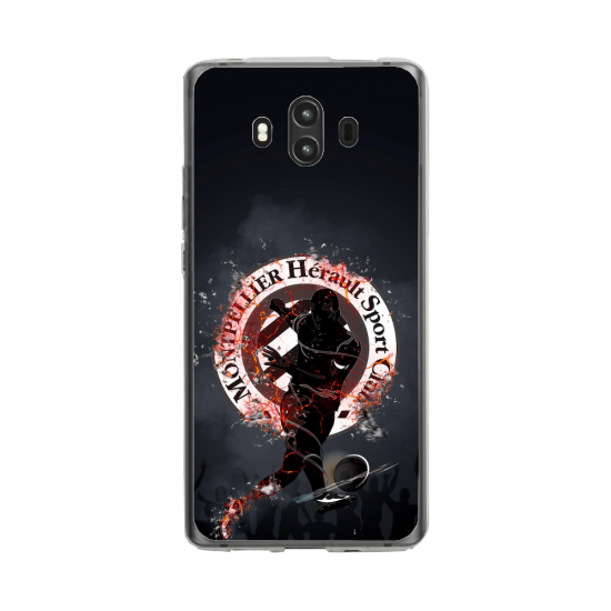 Coque silicone Huawei MATE 10 PRO Fan d'Overwatch Fatale super hero
