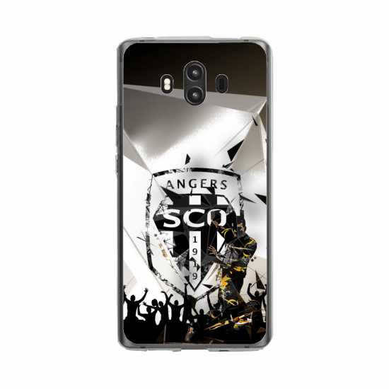 Coque silicone Huawei MATE 10 PRO Fan d'Overwatch Torbjörn super hero