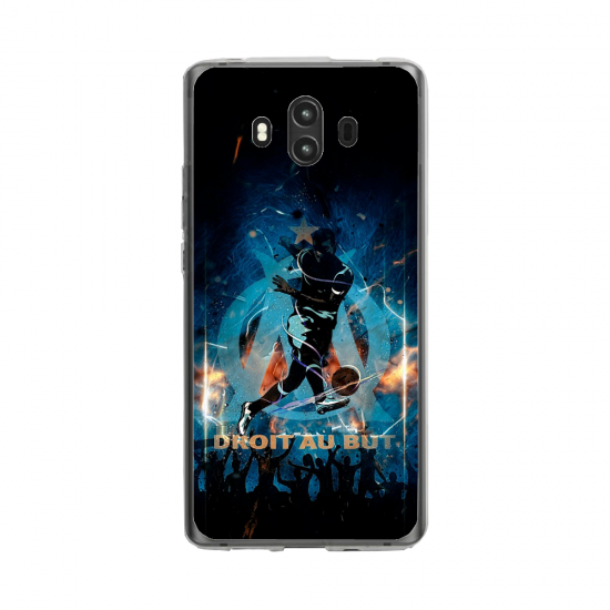 Coque silicone Huawei MATE 10 PRO Fan d'Overwatch Ashe super hero