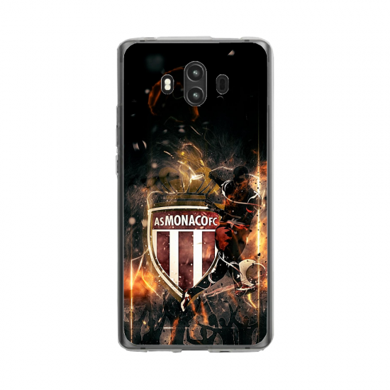 Coque silicone Huawei MATE 10 PRO Fan d'Overwatch Winston super hero