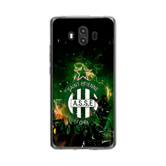 Coque silicone Huawei Mate 10 PRO Hibiscus rouge