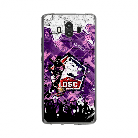 Coque silicone Huawei MATE 10 PRO Fan d'Overwatch Tracer super hero