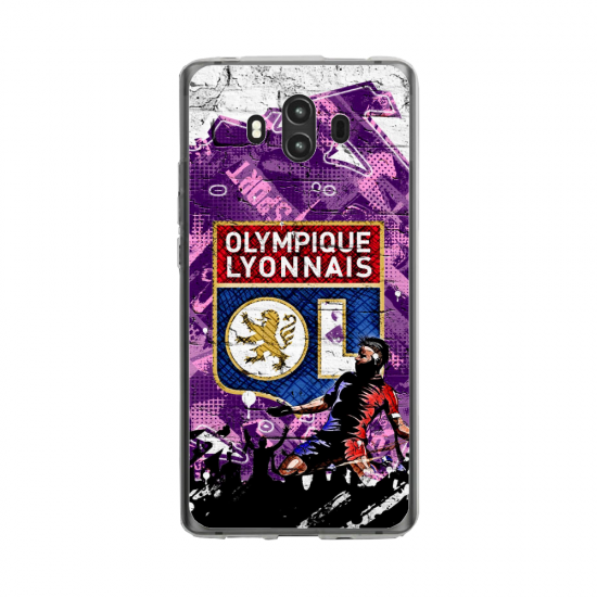 Coque silicone Huawei MATE 10 PRO Fan d'Overwatch Baptiste super hero