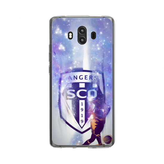 Coque silicone Huawei MATE 10 PRO Fan d'Overwatch Bastion super hero
