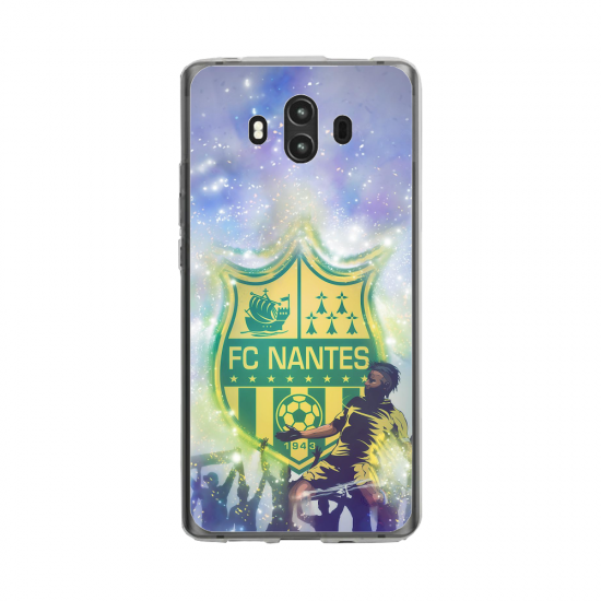Coque silicone Huawei Mate 10 PRO Flamant rose