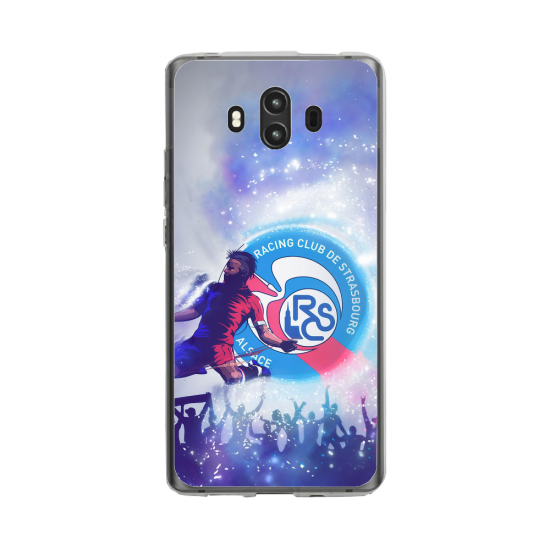 Coque silicone Huawei MATE 10 PRO Fan d'Overwatch Bouldozer super hero
