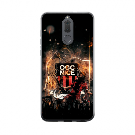 Coque silicone Huawei Mate 20 Flamant rose