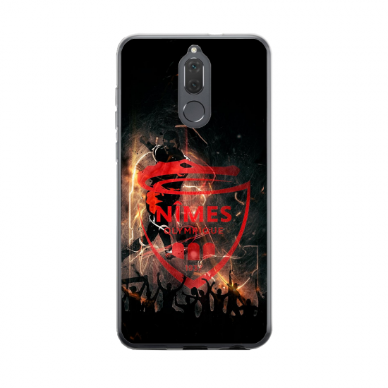 Coque silicone Huawei Mate 20 Fan de BMW sport version super héro
