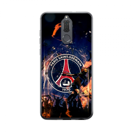 Coque silicone Huawei Mate 20 Fan de BMW version super héro