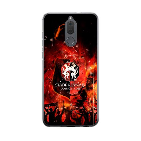 Coque silicone Huawei MATE 20 Yoga Papillon