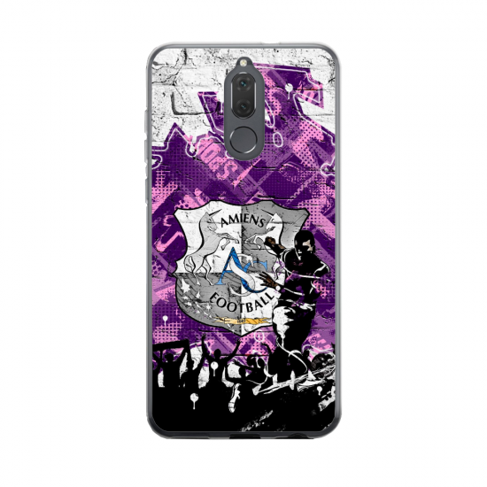 Coque silicone Huawei MATE 20 Fan d'Overwatch Zenyatta super hero