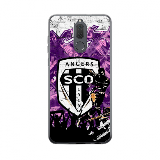 Coque silicone Huawei MATE 20 Fan d'Overwatch Zarya super hero