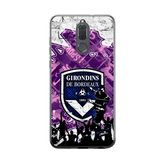 Coque silicone Huawei MATE 20 Fan d'Overwatch Winston super hero