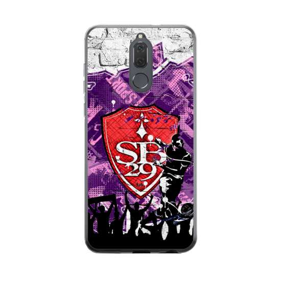 Coque silicone Huawei MATE 20 Fan d'Overwatch Tracer super hero