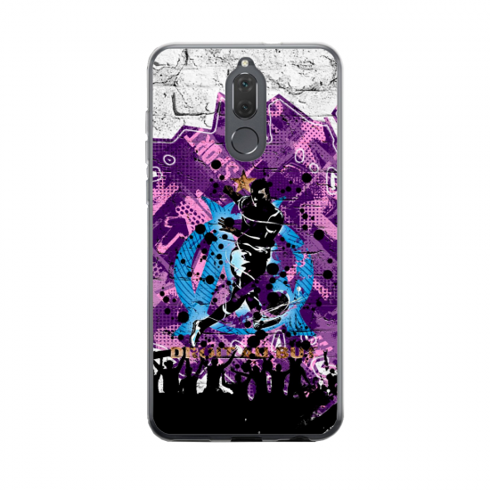 Coque silicone Huawei MATE 20 Fan d'Overwatch Soldat 76 super hero