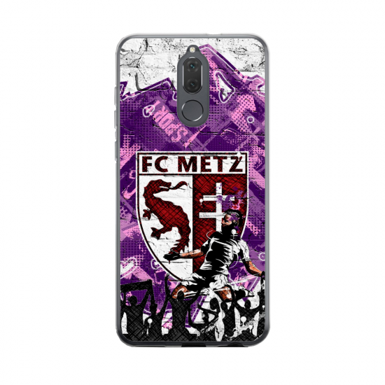 Coque silicone Huawei MATE 20 Fan d'Overwatch Sigma super hero