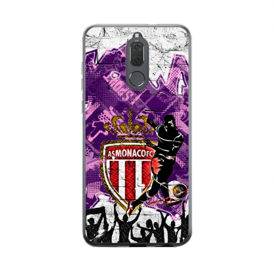 Coque silicone Huawei MATE 20 Fan d'Overwatch Reinhardt super hero