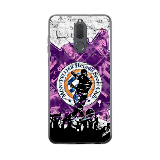 Coque silicone Huawei MATE 20 Fan d'Overwatch Pharah super hero