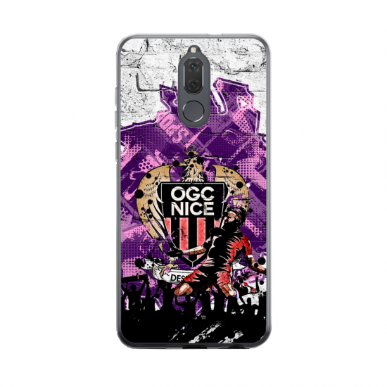 Coque silicone Huawei MATE 20 Fan d'Overwatch Moira super hero