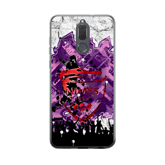 Coque silicone Huawei MATE 20 Fan d'Overwatch Mei super hero