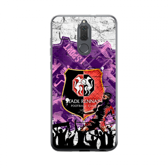 Coque silicone Huawei MATE 20 Fan d'Overwatch Hanzo super hero