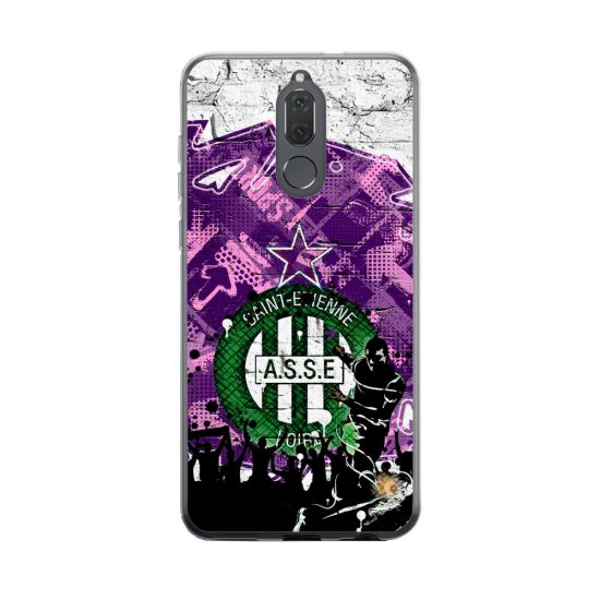 Coque silicone Huawei MATE 20 Fan d'Overwatch Genji super hero