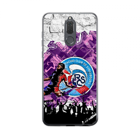 Coque silicone Huawei MATE 20 Fan d'Overwatch Faucheur super hero