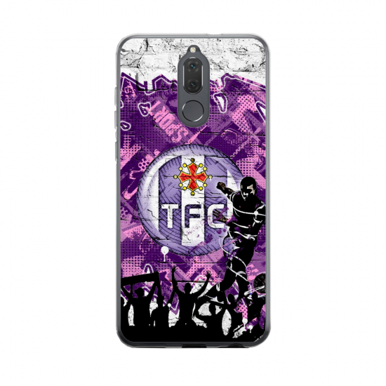 Coque silicone Huawei MATE 20 Fan d'Overwatch Fatale super hero