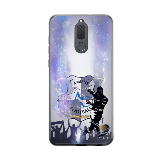 Coque silicone Huawei MATE 20 Fan d'Overwatch Doomfist super hero