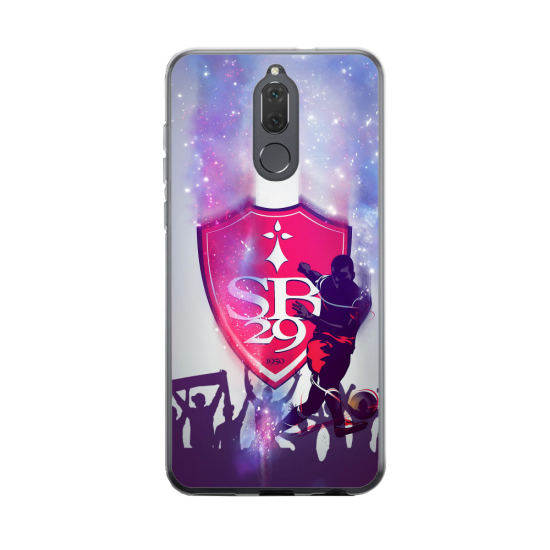 Coque silicone Huawei MATE 20 Fan d'Overwatch Chacal super hero