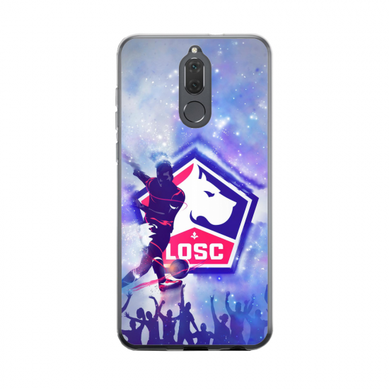 Coque silicone Huawei MATE 20 Fan d'Overwatch Bouldozer super hero