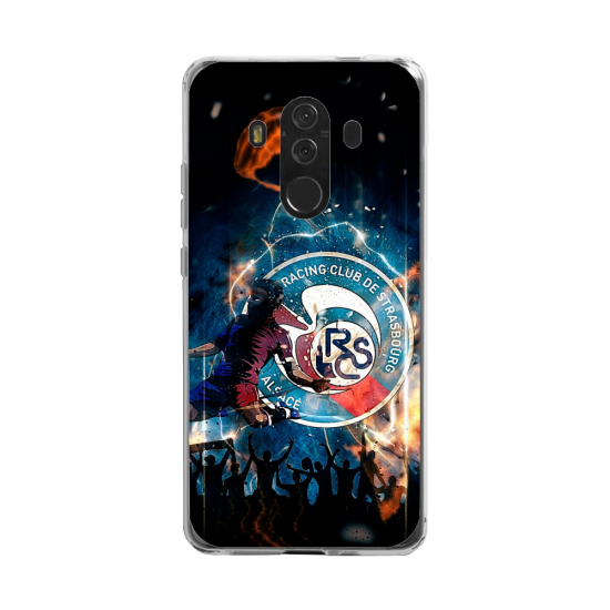 Coque silicone Huawei Mate 20 LITE Flamant rose