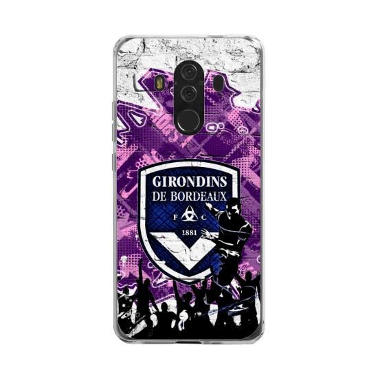 Coque silicone Huawei MATE 20 LITE Yoga Papillon