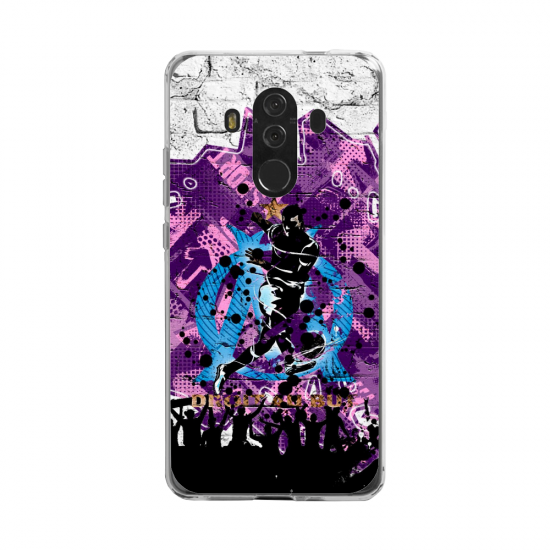 Coque silicone Huawei MATE 20 LITE Fan d'Overwatch Zarya super hero
