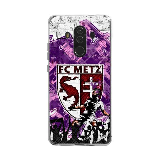 Coque silicone Huawei MATE 20 LITE Fan d'Overwatch Winston super hero