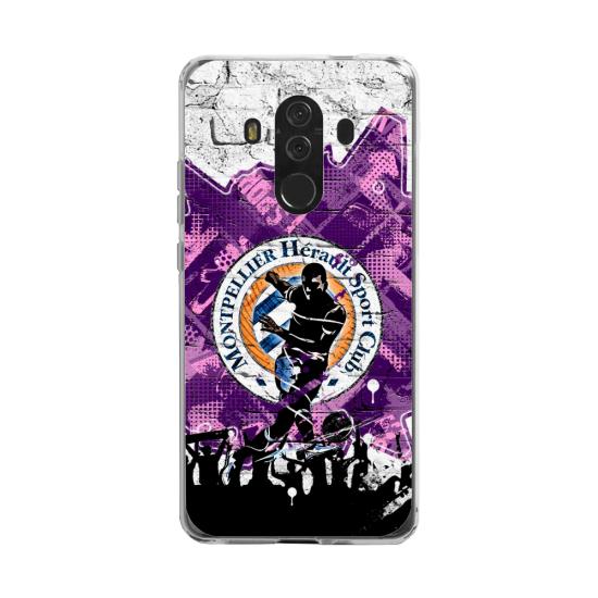 Coque silicone Huawei MATE 20 LITE Fan d'Overwatch Torbjörn super hero