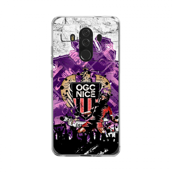 Coque silicone Huawei MATE 20 LITE Fan d'Overwatch Sombra super hero