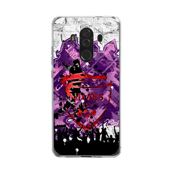 Coque silicone Huawei MATE 20 LITE Fan d'Overwatch Soldat 76 super hero