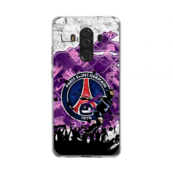 Coque silicone Huawei MATE 20 LITE Fan d'Overwatch Sigma super hero
